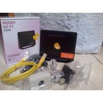 Modem Roteador Wifi Sagemcom 2704n Oi Velox - Original