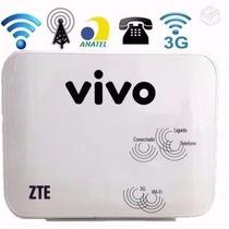 Modem Roteador Wifi Vivo Box Zte® Mf23 Original Lacrado 3g