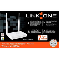 Ponto De Acesso Extensor De Alcance Wireless N 300 Mbps