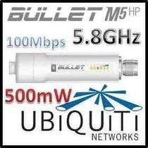 Ubiquiti Bullet-m5-hp Outdoor 5ghz 400mw Homologado
