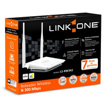 Roteador Wireless 300mbps L1-rw342 Link One