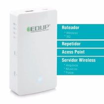 Roteador Repetidor 150mbps Servidor Nuven Edup Ep-9511n T58