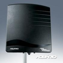 Mini Estação Cliente Acess Point Ap+poe+antena 17dbi 2,4ghz