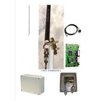 Kit Provedor + Mikrotik + Antena 25dbi + Pcba+ Pigtail