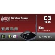 Roteador Wifi C3 Tech Wr-1000nl