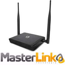 Roteador Wireless C3 Tech 300mbps Com 4 Portas Lan W-r304n