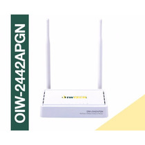 Roteador Wireless Oiw - 2442apgn 300mbps Ap/router
