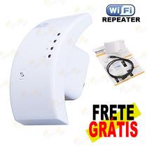 Repetidor Expansor Sinal Rede Wi-fi 2 Antenas Dbi 300mbps