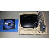 Roteador Sem Fio Cisco Linksys Wrt-54g2 - Usado
