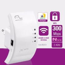 Repetidor Wi-fi Wps 300 Mbps Re051 Br - Multilaser