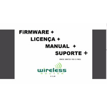 Firmware Wireless Router V2.0 + Licença + Manual (rtl8186)