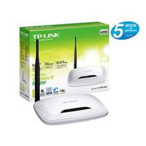 Roteador Tp-link Wireless 1 Antena 150mbps Tlwr740n Nacional