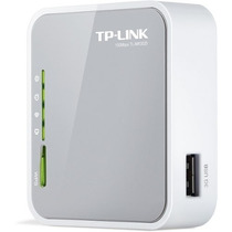 Mini Roteador Wireless 3g / 4g 150mbps Tl-mr3020 Tp-link -