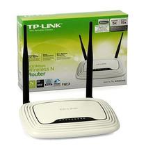 Roteador Wireless 300mb Tplink Tl-wr841nd 3 Antenas 4 Portas