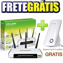 Roteador Wireless 300mbps Tp-link Tl-wr 941nd Repetidor Grat