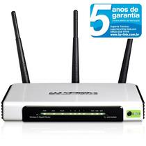 Roteador Tp-link Wireless Tl-wr1043nd Giga 3 Antenas Removív