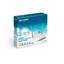 Modem Roteador Wireless N Usb Adsl2+ De 300mbps Td-w8968