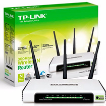 Roteador Wireless 300mbps Tp-link Wifi 3 Antenas Tl-wr 941nd