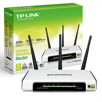 Tp-link Roteador 300mbps Wireless N Router Tl-wr941nd