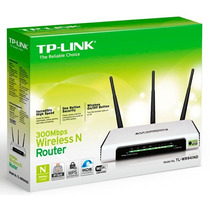 Roteador 300mbps Tp-link Tl-wr 941nd Wifi 3 Antenas