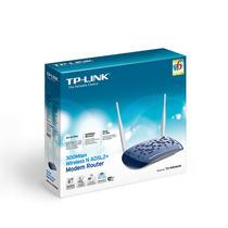 Modem Roteador Wireless N Adsl2+ De 300mbps Td-w8960n