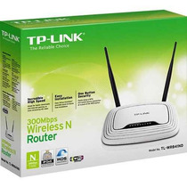 Roteador Wireless 300mbps Tp-link Tl-wr 841nd Wifi 2 Antenas