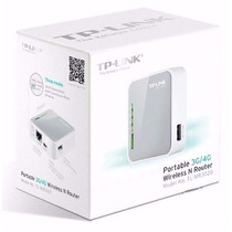 Roteador Portátil 3g/4g Wireless 3.75g N 150mbps Tl-mr3020