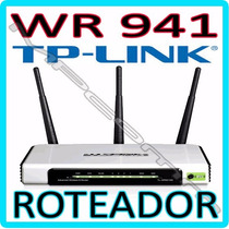 Roteador Wireless N Tp-link Tl-wr941nd 300mbps 802.11b/g/n