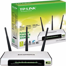 Roteador Tp-link Tl-wr 940n Wireless 300mbps Wifi 3 Antenas