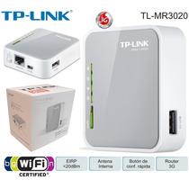 Roteador Tp-link Router Tl-mr3020 3g