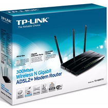 Tp-link Td-w8970 300mbps Modem Adsl2 + Roteador +usb