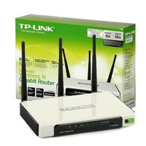 Roteador Wireless N Tp-link Tl-wr941nd 300mbps-lacrado Orig.