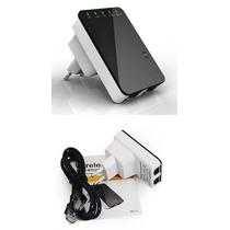 Repetidor Extensor Amplificador Sinal Wifi Wireless Rj45 Win