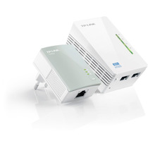 Tp-link Tl-wpa4220 Kit 300mbps Av500 Wifi Powerline Extensor