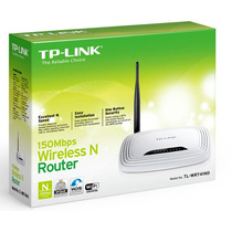 Roteador Wireless Tp- Link Tl- Wr741nd 150mb 2.4 Ghz Lacrado