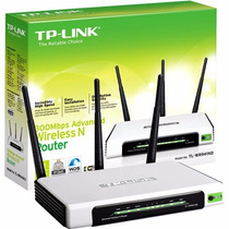 Roteador Tp Link 3 Antenas 300mbps Mod. Wr941nd