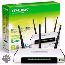 Roteador Tp Link Wireless 300mbps - 3 Antenas Tl- Wr941nd