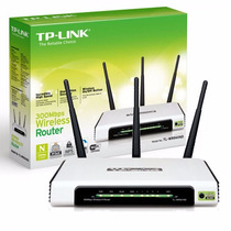 Roteador Wireless 300mbps Tp-link Tl-wr941nd 3 Antenas Wi-fi