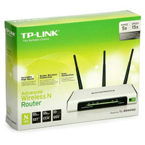 Roteador Wireless Tp-link 3 Antenas Tl-wr 941nd 300mbps