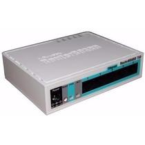 Mikrotik Routerboard Rb750gl 400mhz 64mb 5 Portas Gigabit L4