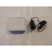 Mikrotik Router Board Rb 750 - Licença Nível 4