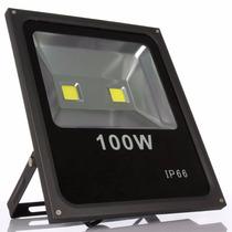 Holofote Led 100w Iluminação Luminárias Exterior Ip66