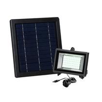 Luminária E Refletor Solar 60 Leds Ecológica (kit Completo)