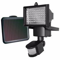 Refletor Led Luminaria Solar 60 Led Iluminaçao Jardim Sensor