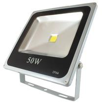 Refletor Led 50w Slim Bivolt Holofote A Prova D