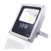 Refletor Holofote Led 10w Branco Frio Bivolt A Prova Dágua