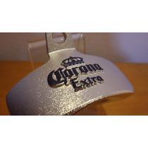 Abridor Garrafas Parede Cerveja Corona Extra Metal