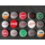 Lote De 15 Tampinhas Antigas Coca-cola Virgens R$ 20,00 Cada