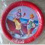 A6954 Raro Porta Copo Da Coca Cola Em Metal, Importado, Séri