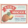 Rótulo Antigo Da Soda Abacaxi Stringhini (anos 70)
